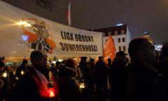 Rocznica wprowadzenia stanu wojennego - Gdańsk 13.12.2016